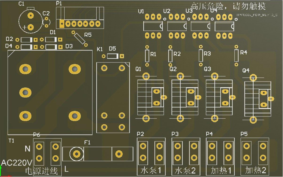 豪威電子水暖床墊控制器開發、水暖電熱毯控制器開發、恒溫水暖加熱器廠家